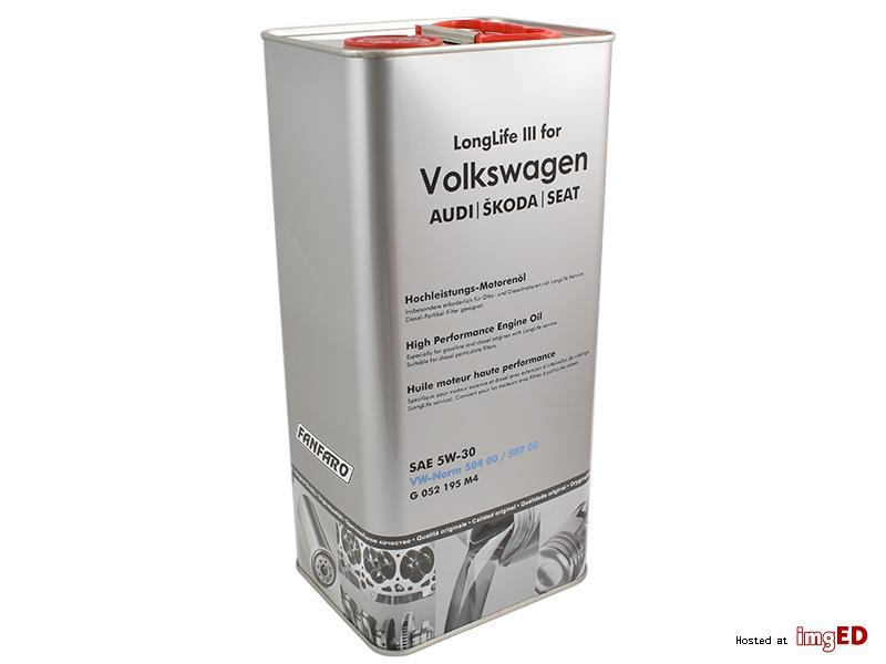 VW 5-30 ORIGINAL OIL 4LT