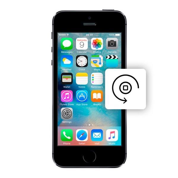 Αντικατάσταση home button iphone 5/5S
