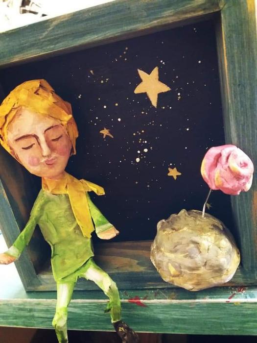 Χειροποίητες κούκλες, papier mache Δραπετσώνα
