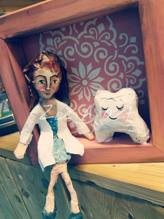 Χειροποίητες κούκλες, papier mache Πειραιάς