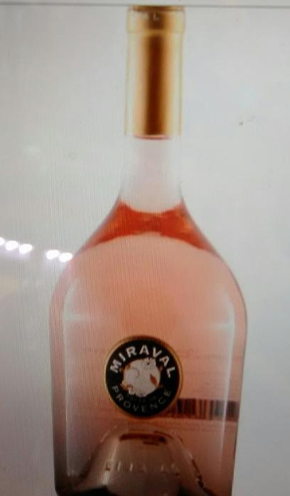 Κρασί ροζέ Miraval (Angelina Jolie)