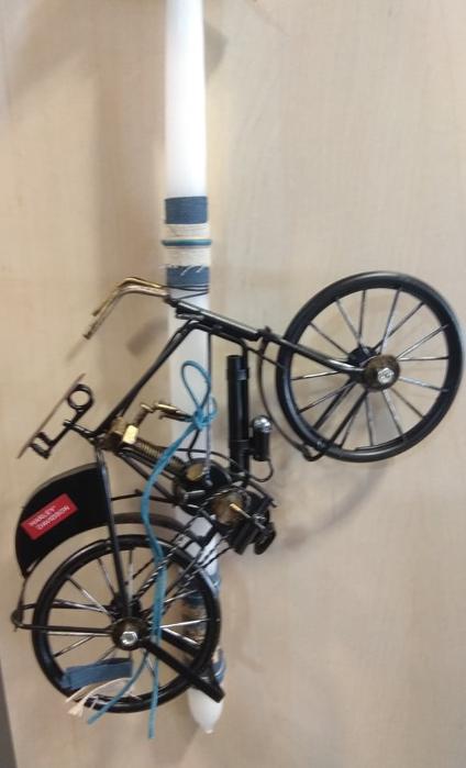 λαμπάδα ποδήλατο vintage