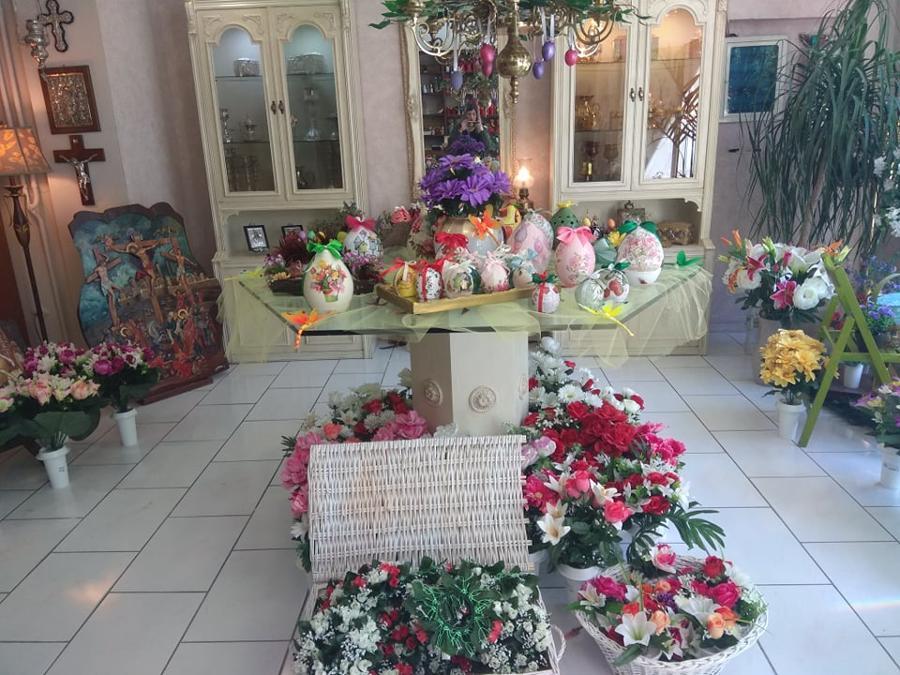 πασχαλινά λουλούδια αιγάλεω , νίκαια, λουλούδια για μνήματα δυτική αττική
