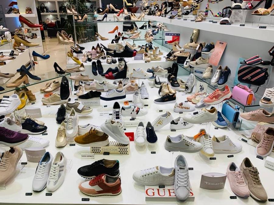 Αθλητικά παπούτσια Καλαμαριά, Παντόφλες Καλαμαριά, Σανδάλια Καλαμαριά