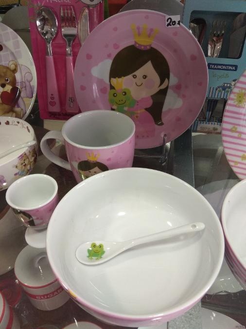 Παιδικά πιάτα Αιγάλεω, Σετ παιδικών πιάτων Αιγάλεω
