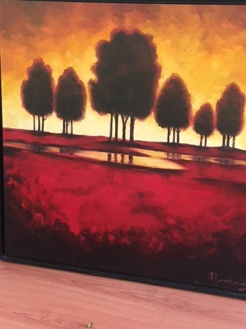 Πίνακες ζωγραφικής ΝέαΦιλαδέλφεια, Συντήρηση έργων τέχνης Πατήσια, Αναπαλαίωση κορνίζας Γαλάτσι