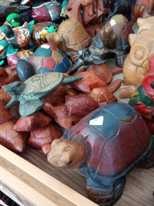 Χελώνα μια ξύλινα για μακροζωία από 2 έως 8ευρω