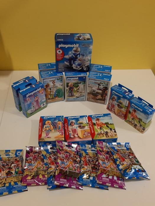 Παιχνίδια Playmobil Ηλιούπολη, Συλλογές Playmobil Ηλιούπολη