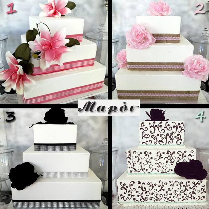 Γαμήλια τούρτα Ίλιον, Γαμήλιες τούρτες Δυτική Αττική