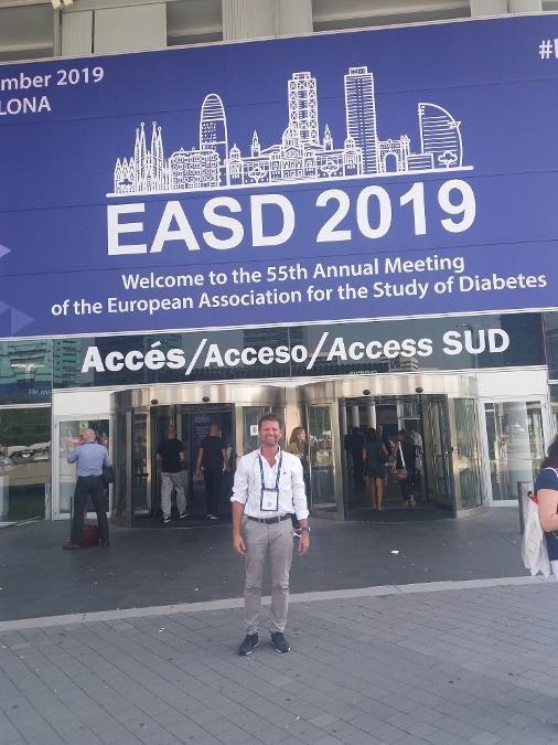 Πανευρωπαϊκό συνέδριο Σακχαρώδη διαβήτη 2019 στη Βαρκελώνη