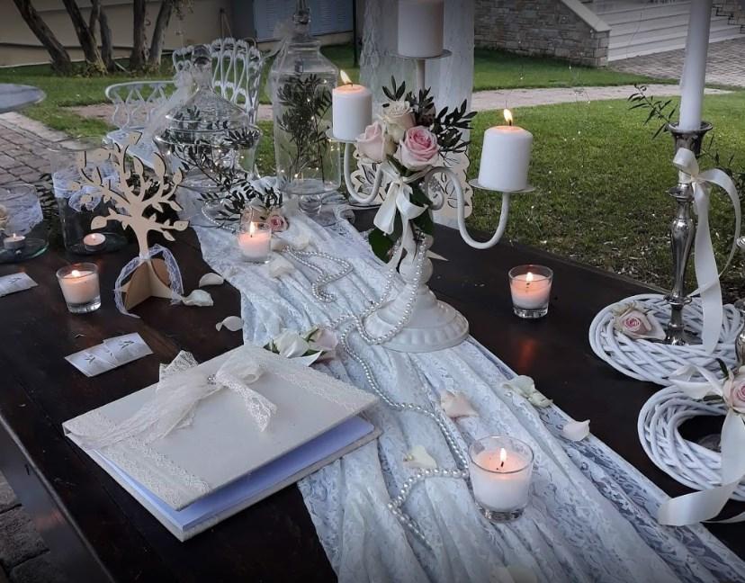 Στολισμός γάμου Γλυφάδα, Διακόσμηση γάμου Γλυφάδα, Ανθοστολισμοί Γλυφάδα