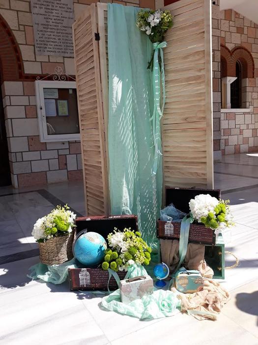 Στολισμός βάπτισης Γλυφάδα, Διακόσμηση βάπτισης Γλυφάδα, Ανθοστολισμοί δεξιώσεων Γλυφάδα