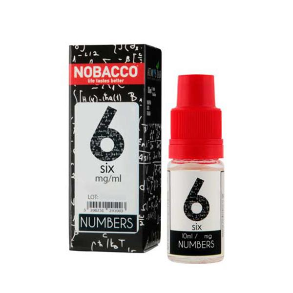 Nobacco numbers 6 10ml