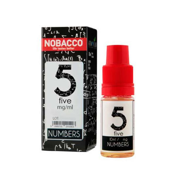 Nobacco numbers 5 10ml