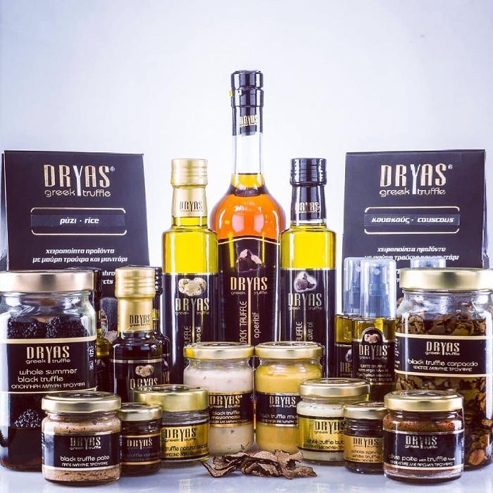 Προϊόντα τρούφας Dryas-greek truffle