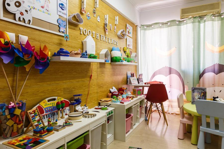 Αντιμετώπιση ουλίτιδας παιδιών Αχαρνές, Αντιμετωπίση τερηδόνας Αχαρνές